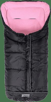 ALTABEBE Fusak zimný Easy Lux čierno-ružová