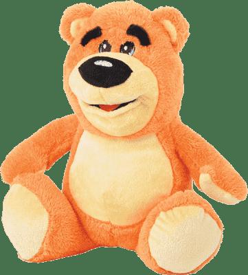 MIKRO TRADING Medvěd plyšový 30cm - růžová