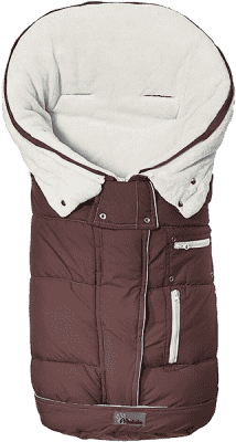 ALTABEBE Fusak zimný rozšířitelný TOP Guard hnedo-biela