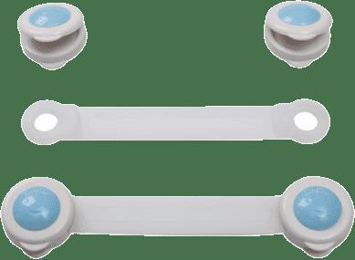 BABY ONO Zámok univerzálny pre zásuvky a chladničky - biely