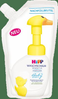 HIPP Babysanft Pena na umývanie - náhradná náplň 250 ml