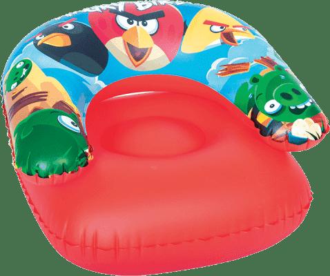 BESTWAY Dmuchany fotel - Angry Birds, 76 x 76 cm