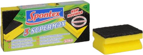 SPONTEX 3 Super Max huba tvarovaná veľká (Feedo klub)