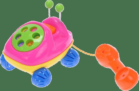 BABY'S HAPPINESS Telefon brouček tahací