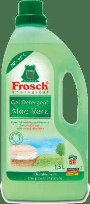 FROSCH EKO D prania delikatnych tkanin i dziecięcych ubranek - aloe vera 1,5 l ( 20 prań)