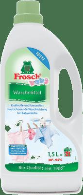 FROSCH EKO Hypoalergenní prací gel na kojenecké prádlo 1,5 l ( 20 dávek)