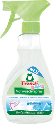 FROSCH EKO spray na skvrny na kojeneckém prádle 300 ml