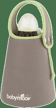 BABYMOOV Ohřívač lahví cestovní, Green/Brown