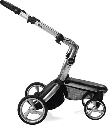 MIMA Xari kočárek 3G - podvozek stříbrný