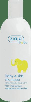 ZIAJA Baby šampón baby + kids 270ml / Slon /