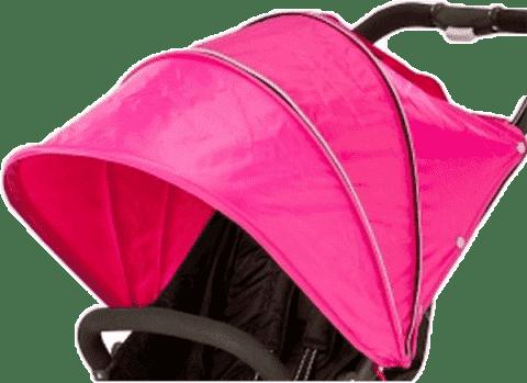 VALCO Bouda ke kočárku Snap 4, růžová