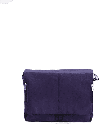 MUTSY Torba do przewijania Exo Purple Black