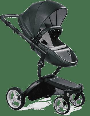 MIMA Xari kočárek 3G - sedák s korbou British Green
