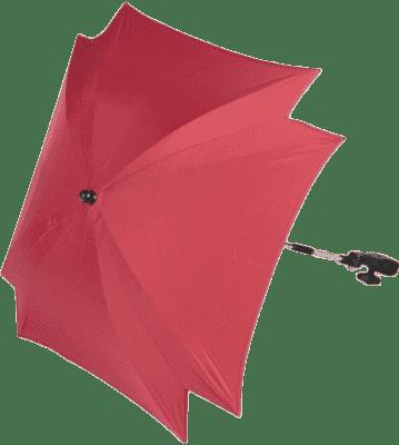ZOPA Slunečník čtvercový + UV, světle červená