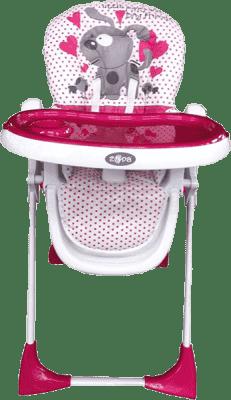ZOPA Krzesełko do karmienia Primo, Pinkdog