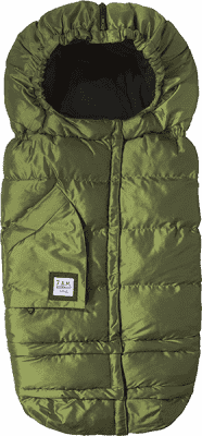 7 A.M. ENFANT Śpiworek do wózka 3w1 Blanket 212 Evolution, Metallic Leaf