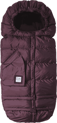 7 A.M. ENFANT Śpiworek do wózka 3w1 Blanket 212 Evolution, Metallic Plum