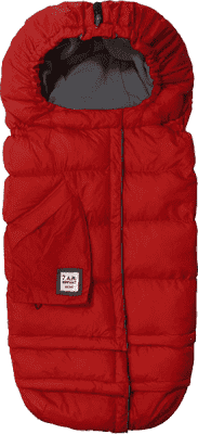 7 A.M. ENFANT Śpiworek do wózka 3w1 Blanket 212 Evolution, Red