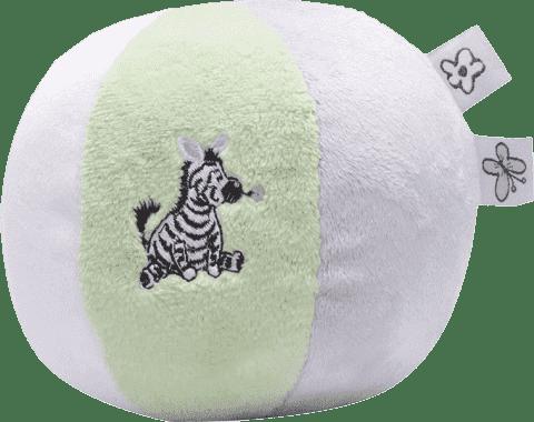 BEBE-JOU Dinkey Zebra, šustící plyšový balón - zebra