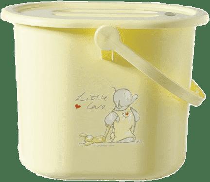 BEBE-JOU Kyblík na pleny Humphrey žlutý