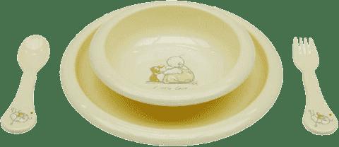 BEBE-JOU Jedálenská súprava Humphrey žltá