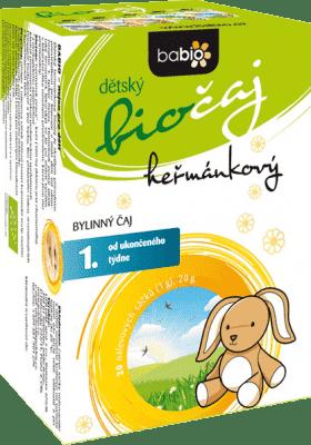 BABIO Dětský heřmánkový biočaj 20x1 g