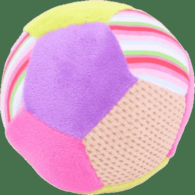 BIGJIGS Textilní hračka - Chrastítko balónek Bella