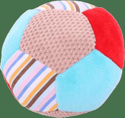 BIGJIGS Textilní hračka - Chrastítko balónek Bruno