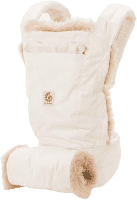 ERGOBABY Designer Nosidełko - Winter Edition - White*