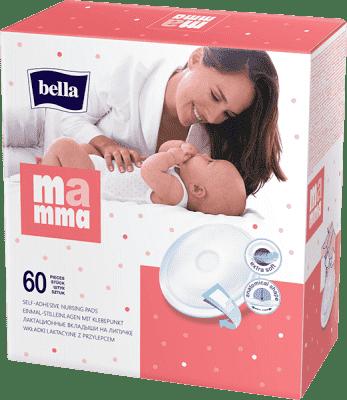BELLA MAMMA Prsní vložky 60 ks
