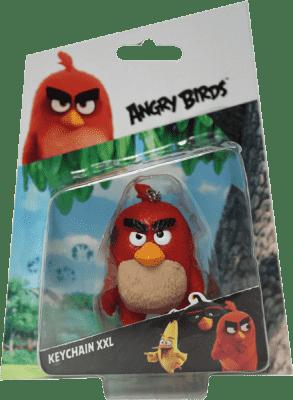 ANGRY BIRDS 3D figúrka s nylon príveskom - blister