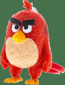 ANGRY BIRDS Plyšová hračka s nylon príveskom 14cm - Red