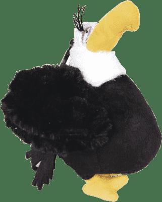ANGRY BIRDS Plyšová hračka s nylon príveskom 14cm - Eagle