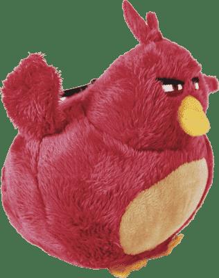 ANGRY BIRDS Plyšová hračka s nylon príveskom 14cm - Terence