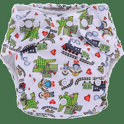 BOBOLIDER Plenkové kalhotky ECO Polandia B53 – vložka z mikrovlákna