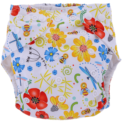 BOBOLIDER Plenkové kalhotky ECO Polandia B54 – vložka z mikrovlákna