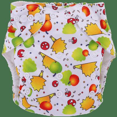 BOBOLIDER Plenkové kalhotky ECO Polandia B56 – vložka z mikrovlákna