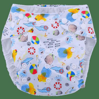 BOBOLIDER Plenkové kalhotky ECO Polandia B57 – vložka z mikrovlákna