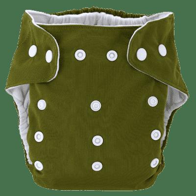 BOBOLIDER Pieluszka wielorazowa ECO Bobolider B20 c.zieleń z wkładem z mikrofibry