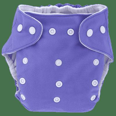 BOBOLIDER Plienkové nohavičky ECO Bobolider B8 - fialovej, vložka z mikrovlákna