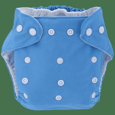 BOBOLIDER Plienkové nohavičky ECO Bobolider B11 - svetlomodrej, bambusová vložka