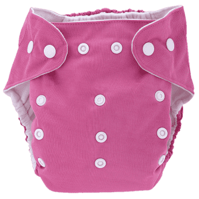 BOBOLIDER Plenkové kalhotky ECO Bobolider B18 – růžové, bambusová vložka