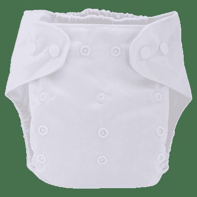 BOBOLIDER Plenkové kalhotky ECO Bobolider B22 – bílé, bambusová vložka