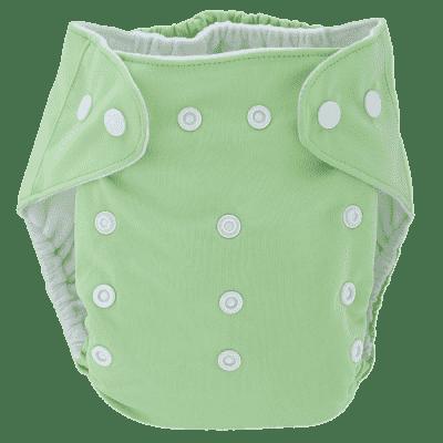 BOBOLIDER Plenkové kalhotky ECO Bobolider B23 – světlezelené, bambusová vložka