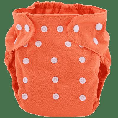 BOBOLIDER Plienkové nohavičky ECO Bobolider B17 - oranžové