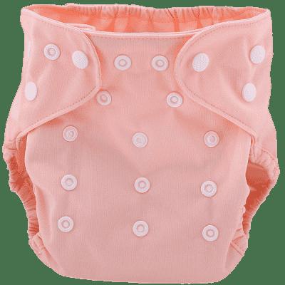 BOBOLIDER Plenkové kalhotky ECO Bobolider B27 – světlerůžové