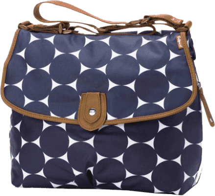 BABYMEL Torba do przewijania Satchel Jumbo Dot Navy