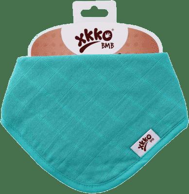 KIKKO Bambusowy śliniaczek/ściereczka Colours (1 szt.) – turquoise