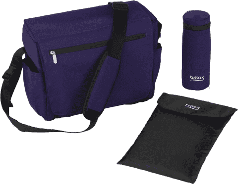 BRITAX Prebaľovacia taška - Mineral Purple