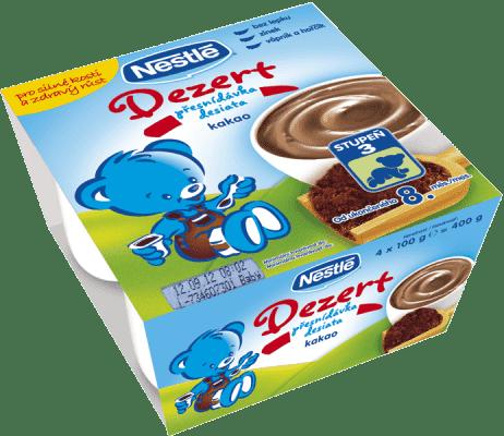 NESTLÉ Dezert desiata – kakao (4x100 g)